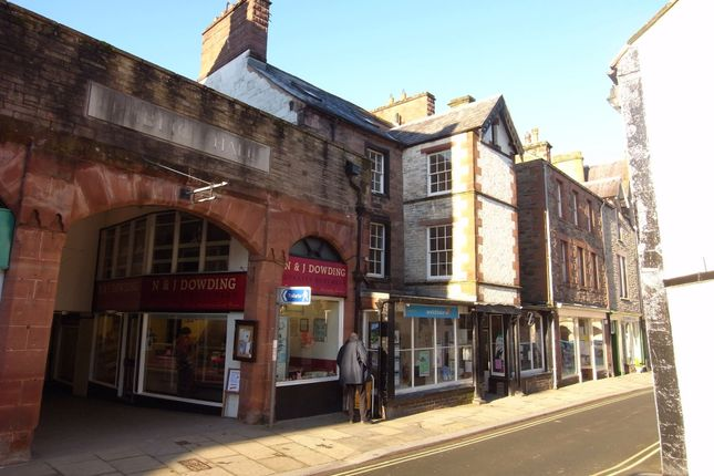 Thumbnail Flat to rent in Flat 2, 16A Boroughgate, Appleby, Cumbria