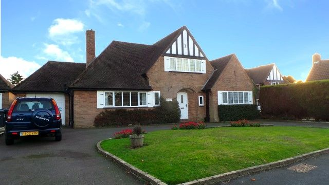Thumbnail Detached house for sale in Finstall Close, Sutton Coldfield, West Midlands