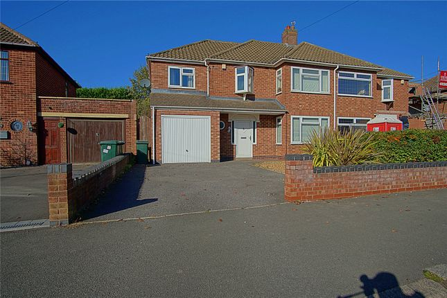 Thumbnail Semi-detached house for sale in Shirley Road, Coventry