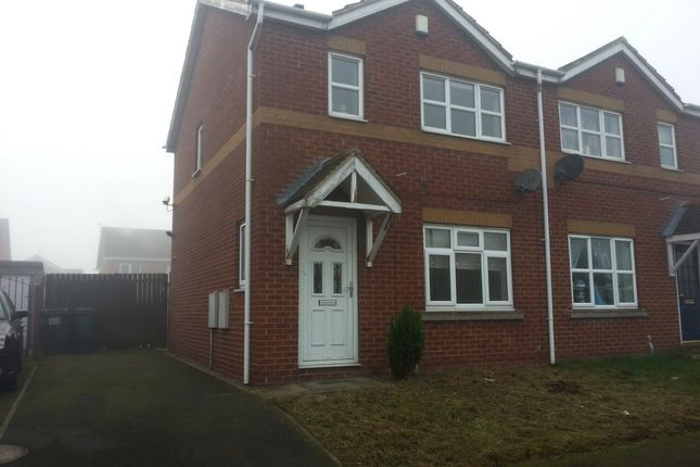 Thumbnail Semi-detached house to rent in Storrs Wood View, Cudworth, Rotherham