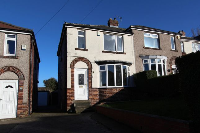 Thumbnail Semi-detached house to rent in Briarfield Road, Gleadless, Sheffield