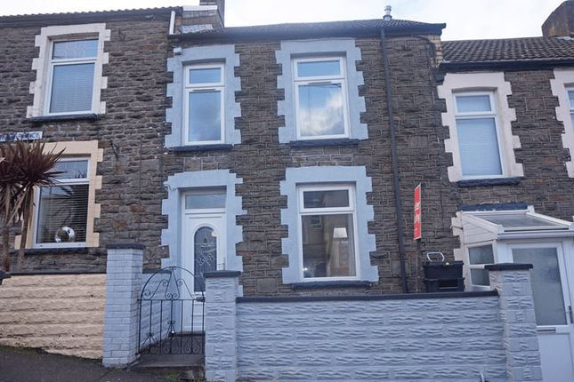 Thumbnail Terraced house for sale in Williams Terrace, Treharris