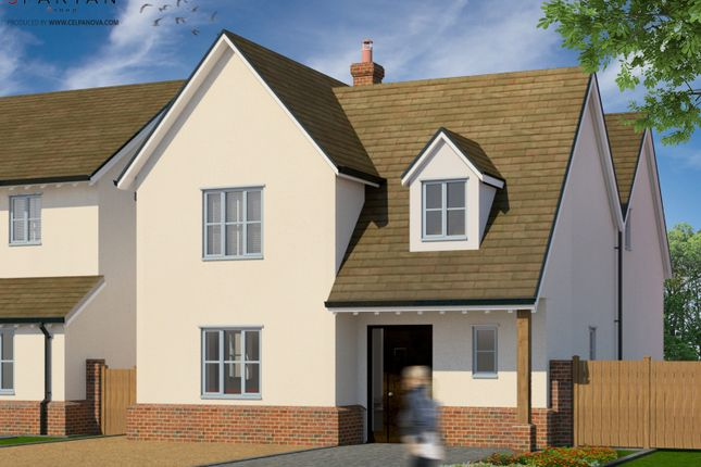 Thumbnail Detached house for sale in Cressages Close, Bannister Green
