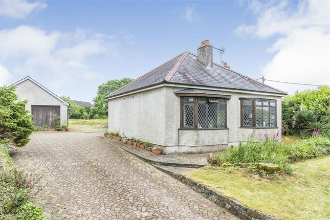 Thumbnail Detached bungalow for sale in Wades Close, Holyland Road, Pembroke