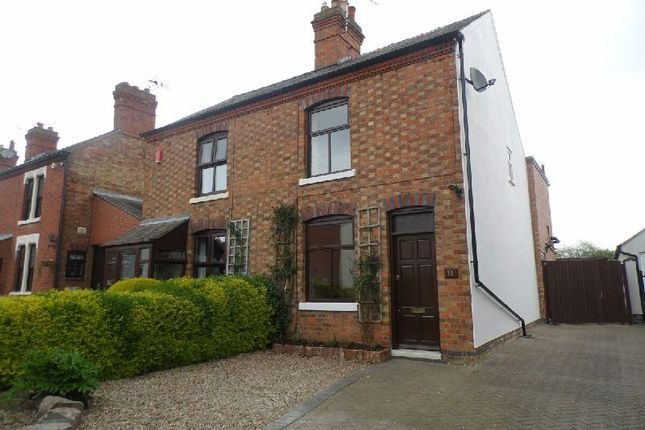 Thumbnail Semi-detached house to rent in Croft Road, Cosby, Leicester