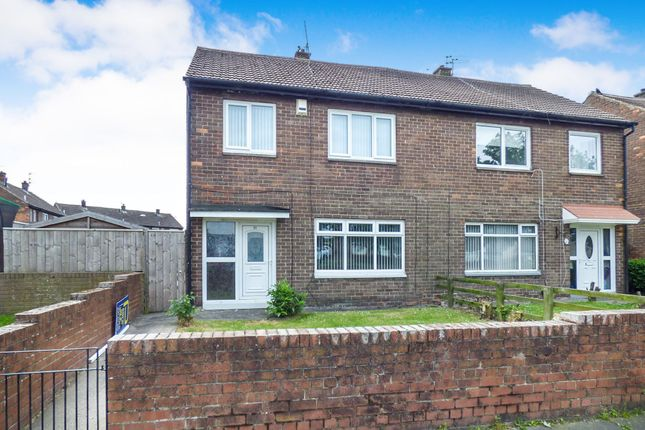 Thumbnail Semi-detached house to rent in Fellgate Avenue, Jarrow