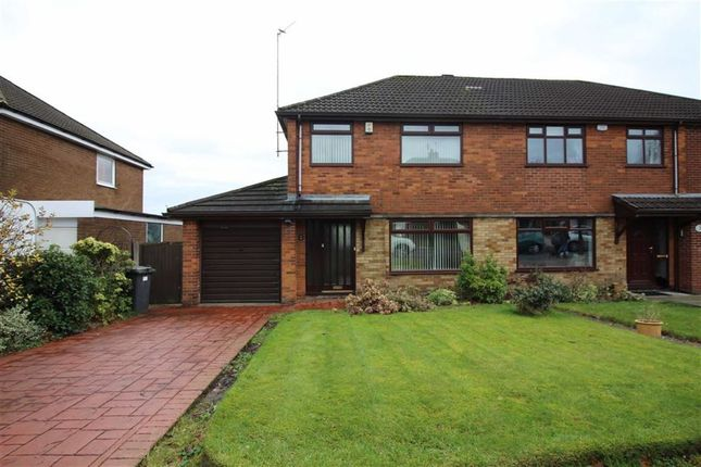 Thumbnail Semi-detached house to rent in Windsor Drive, Bury, Greater Manchester