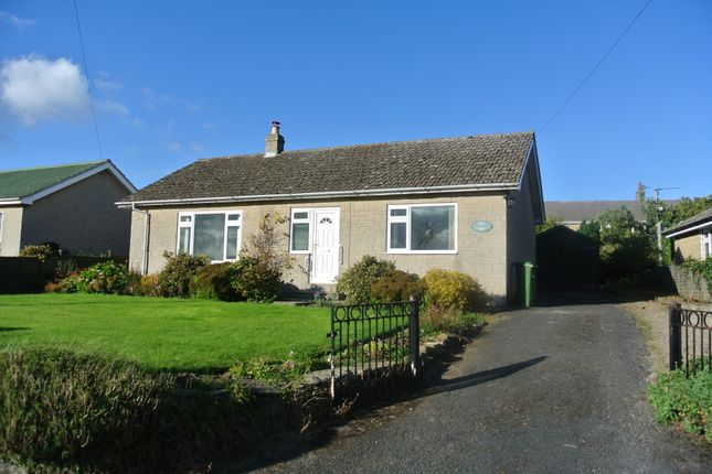 Thumbnail Detached bungalow to rent in Hillfoot, Harmby, Leyburn