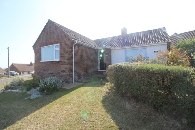 Thumbnail Detached bungalow for sale in Selmeston Road, Rodmill, Eastbourne