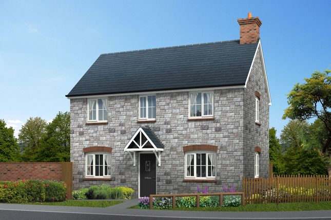 Thumbnail Detached house for sale in Squires Meadow, Lea, Ross-On-Wye, Herefordshire