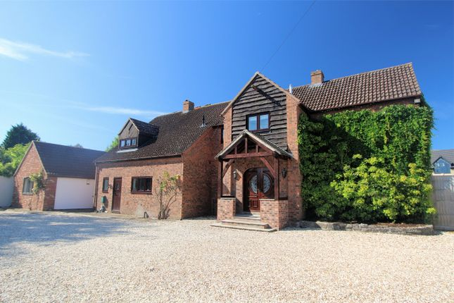 Thumbnail Detached house for sale in Charfield Road, Kingswood, Wotton-Under-Edge, Gloucestershire