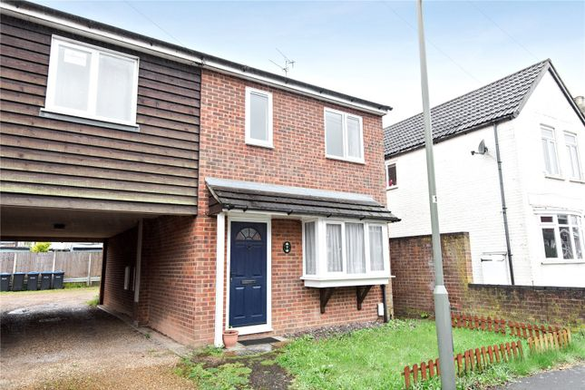 Thumbnail Terraced house for sale in Chapel Grove, Addlestone, Surrey