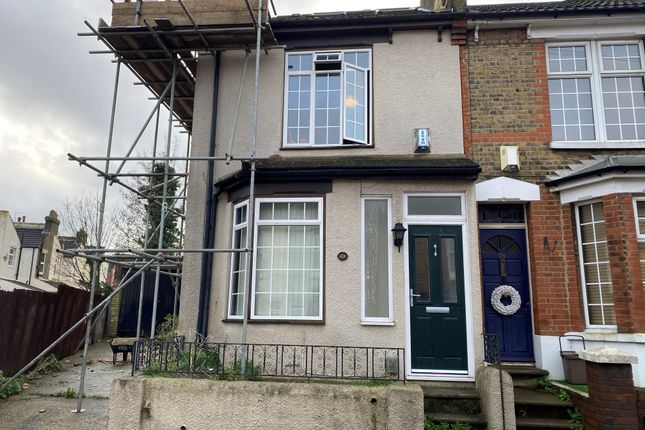 Thumbnail End terrace house to rent in Cecil Road, Rochester