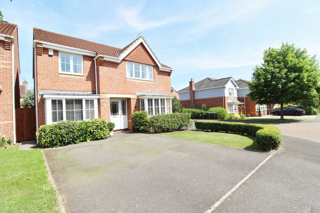 Thumbnail Detached house for sale in Priory Way, Langstone, Newport
