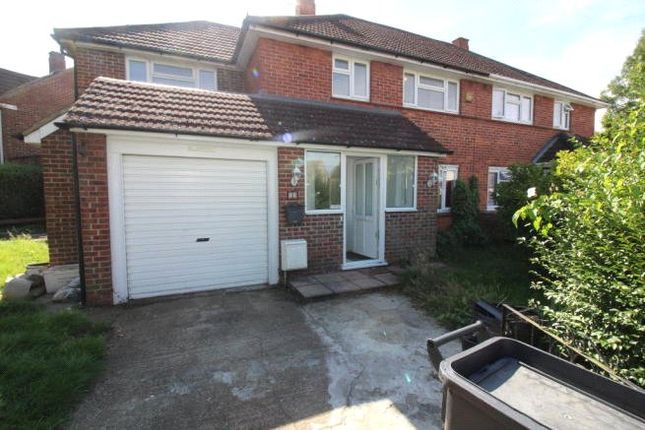 Thumbnail Semi-detached house to rent in Cator Crescent, New Addington, Croydon