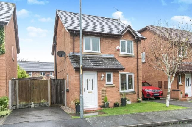 Thumbnail Detached house for sale in Foxall Way, Great Sutton, Ellesmere Port