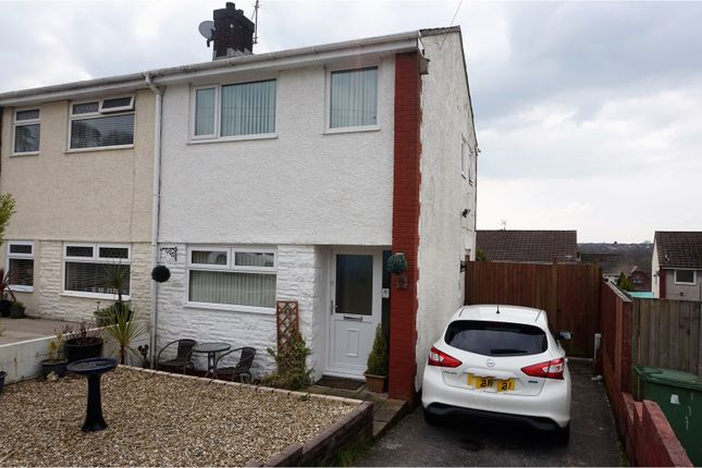 Thumbnail Semi-detached house for sale in Cwrt Y Goedwig, Pontypridd