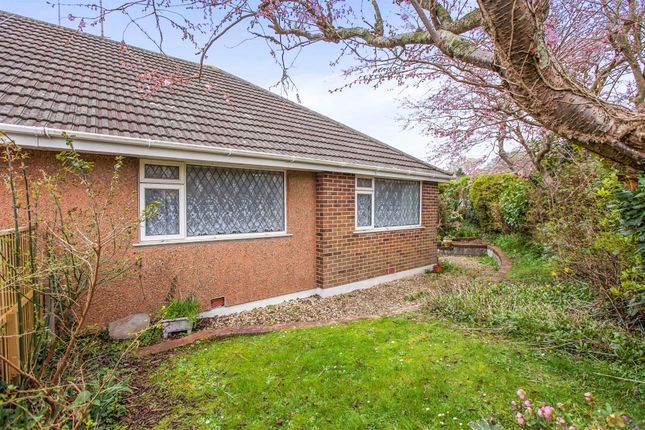 2 bed semi-detached bungalow for sale in Goodeve Close, Plymstock, Plymouth