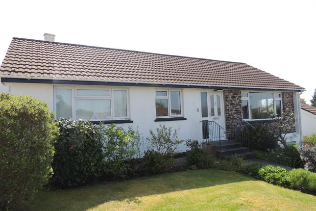 Thumbnail Detached bungalow for sale in Tremena Gardens, St Austell, St. Austell