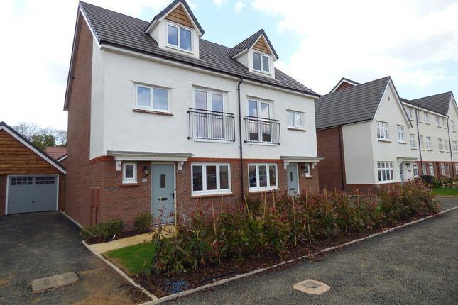Thumbnail Semi-detached house to rent in Homington Avenue, Coate, Swindon