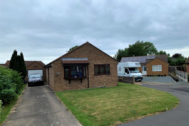 Thumbnail Detached bungalow for sale in Laing Close, Bardney, Lincoln