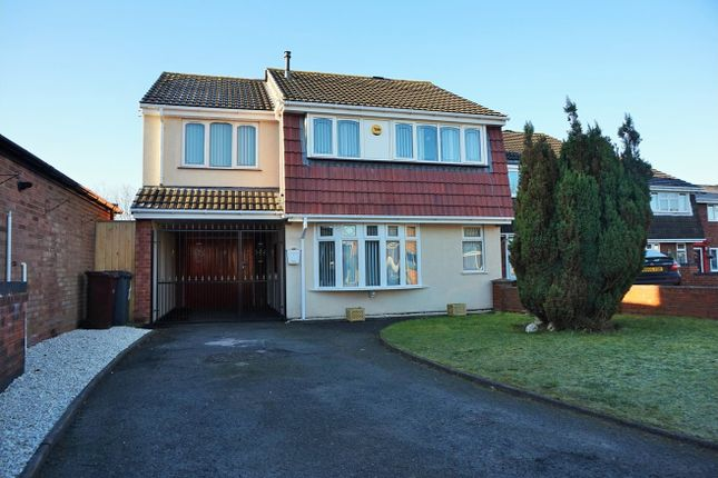Thumbnail Detached house for sale in Peach Road, Willenhall