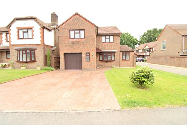 Thumbnail Detached house for sale in Bala Drive, Rogerstone, Newport