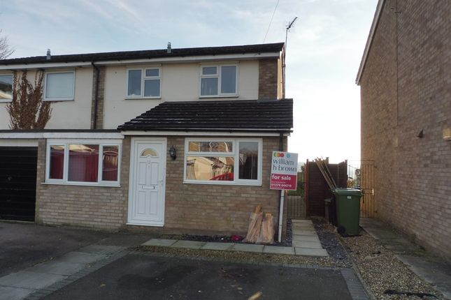 Thumbnail Semi-detached house for sale in St Leonards Close, Scole, Diss