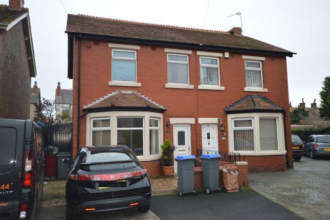 Thumbnail Semi-detached house to rent in Rangeway Avenue, Blackpool