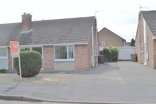 Thumbnail Semi-detached bungalow to rent in Woodlands Crescent, Overseal, Swadlincote