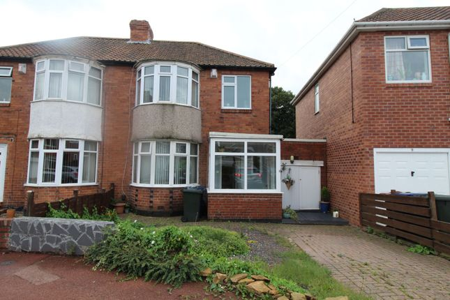 Thumbnail Semi-detached house for sale in Overdene, Newcastle Upon Tyne