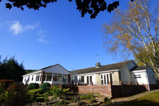 Thumbnail Detached bungalow for sale in Court House Road, Llanvair Discoed, Chepstow