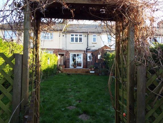 Garden of Brooms Road, Luton, Bedfordshire LU2