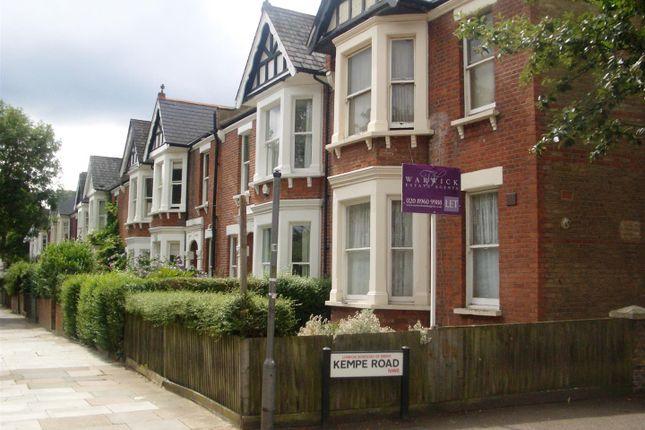 Thumbnail Maisonette to rent in Milman Road, Queens Park, London