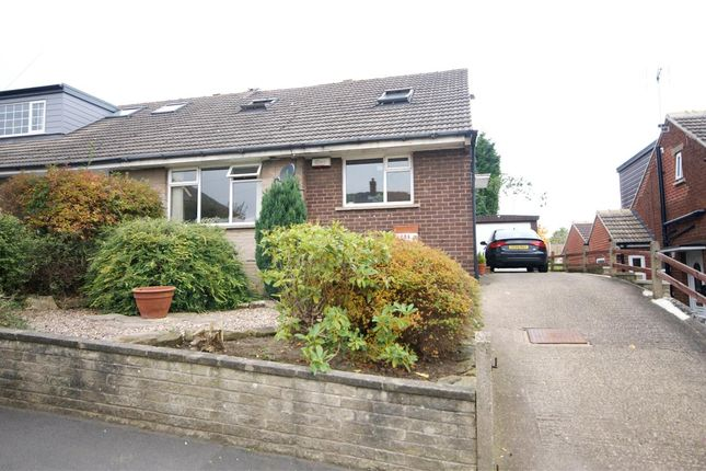 Thumbnail Semi-detached bungalow for sale in Healey Wood Road, Rastrick, Brighouse