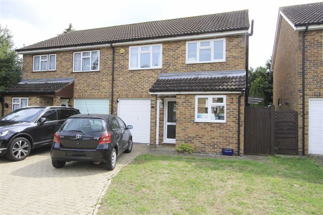 Thumbnail Semi-detached house for sale in Frays Close, West Drayton, Middlesex