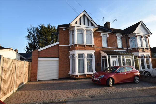 Thumbnail Property to rent in Cardigan Gardens, Goodmayes, Ilford