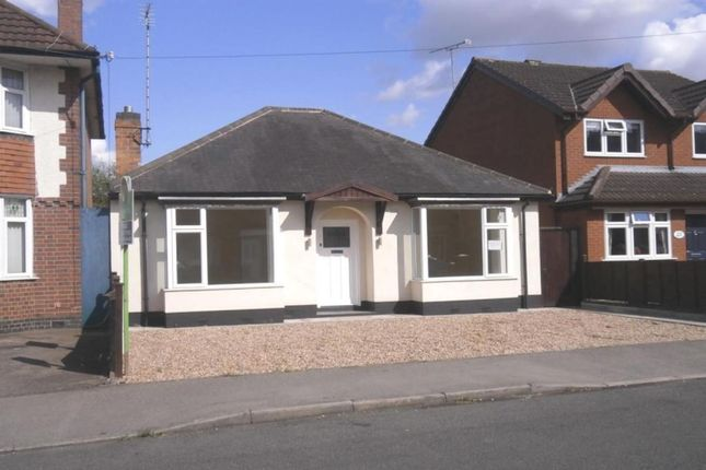 Thumbnail Bungalow for sale in New Street, Blaby, Leicester