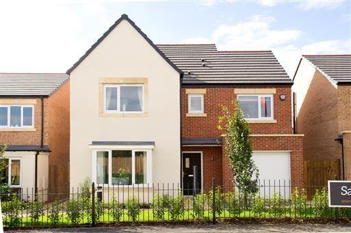 Thumbnail Detached house for sale in Stephenson Park, Killingworth