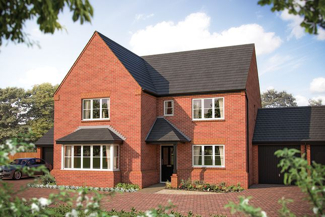 "Thumbnail Detached house for sale in ""The Arundel"" at Larbourne Park Road, Flore, Northampton"