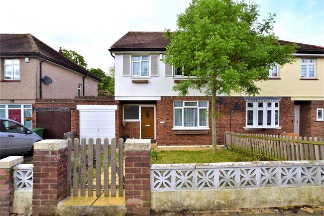 Thumbnail Semi-detached house to rent in Lake Rise, Romford