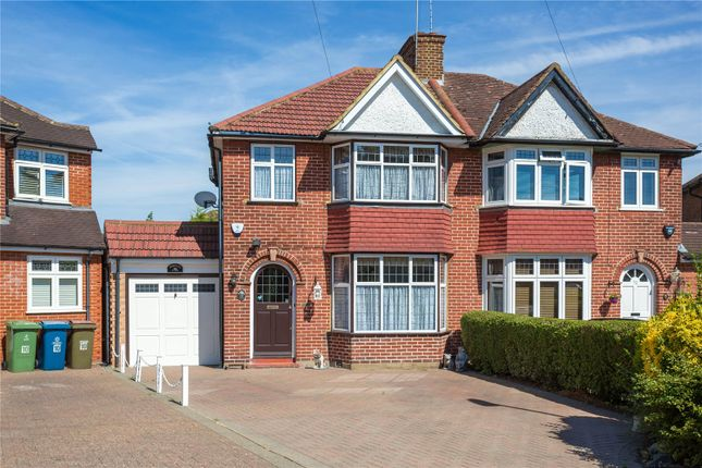 Thumbnail Semi-detached house for sale in Home Mead, Stanmore