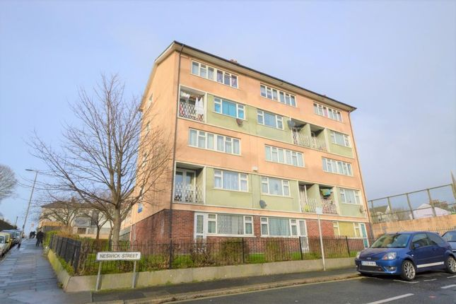 Thumbnail Maisonette for sale in Stoke Road, Plymouth, Devon