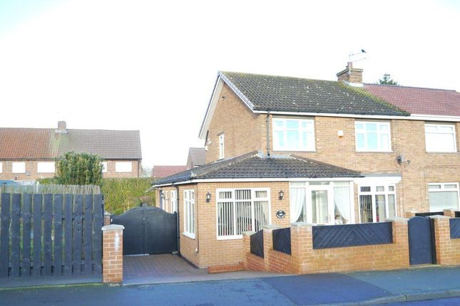 Thumbnail Semi-detached house for sale in Rowan Drive, Ponteland, Newcastle Upon Tyne