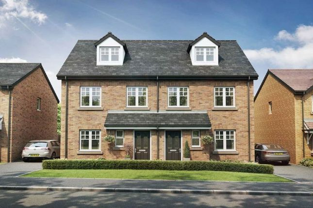 Thumbnail Semi-detached house for sale in Farington Green Grasmere Avenue, Farington, Leyland
