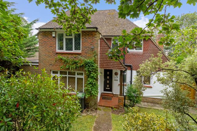 Thumbnail Detached house for sale in Warren Road, Broadwater, Worthing