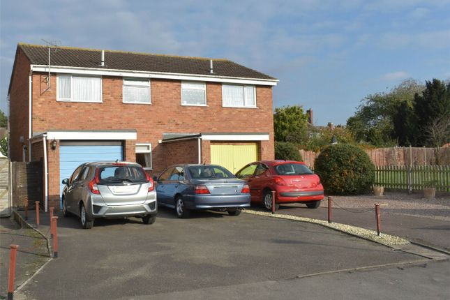 Thumbnail Semi-detached house for sale in Lincoln Close, Tewkesbury Park, Tewkesbury, Gloucestershire