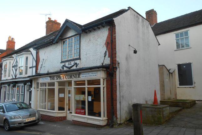 Thumbnail Retail premises for sale in 4 Stafford Street, Market Drayton, Shropshire