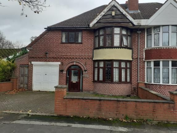 Thumbnail Semi-detached house for sale in Station Road, Stechford, West Midlands