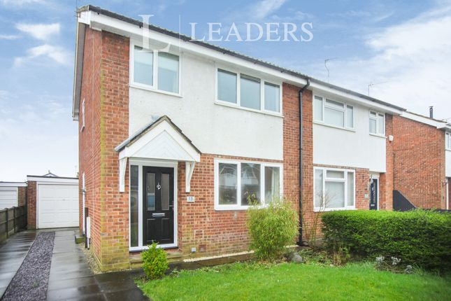 Thumbnail Semi-detached house to rent in Shelley Avenue, Wincham